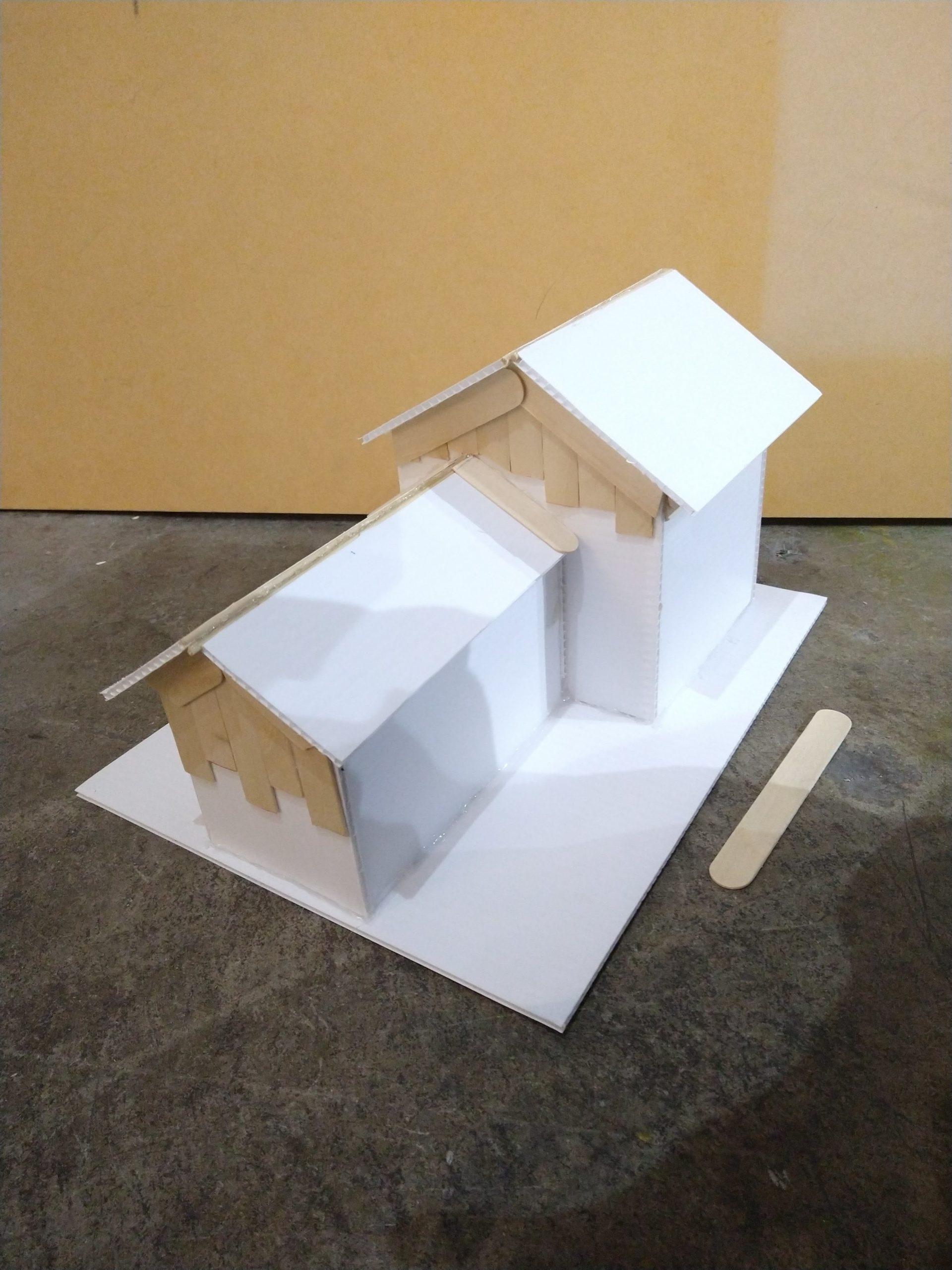 handmade model house