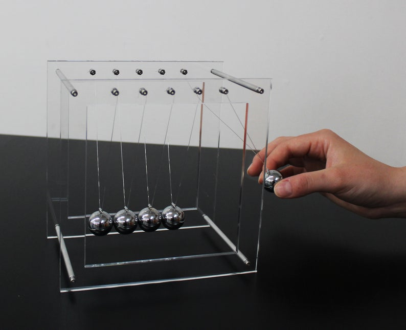 Tooby Designs Newton's Cradle